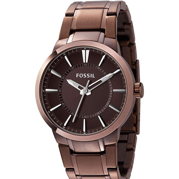 Fossil FS4472 Brown Stainless-Steel Quartz Watch